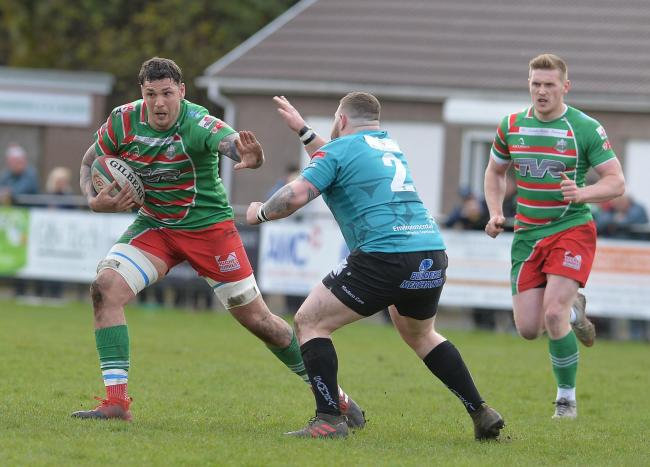 ON THE MOVE: Lock/back row forward Rhys Clarke has swapped Ebbw Vale for Pontypool