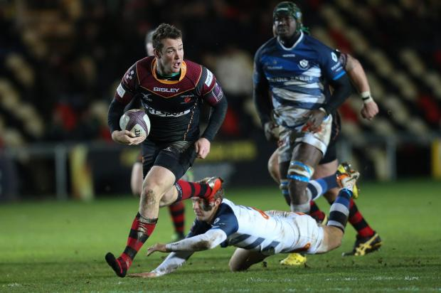 Free Press Series: ON THE RUN: Adam Warren breaks through for the Dragons against Castres