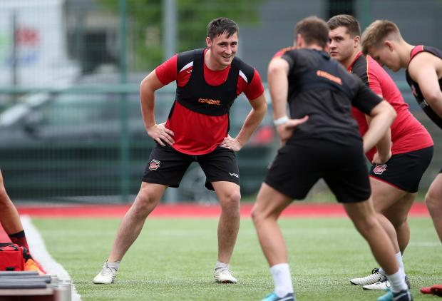 Free Press Series: NEW BOY: Sam Davies