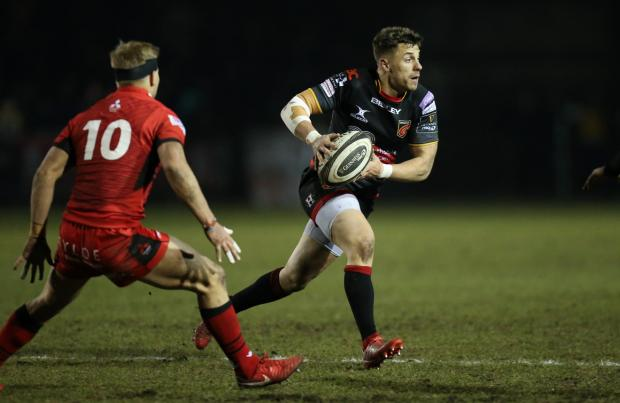 Free Press Series: Dorian Jones on the attack for the Dragons
