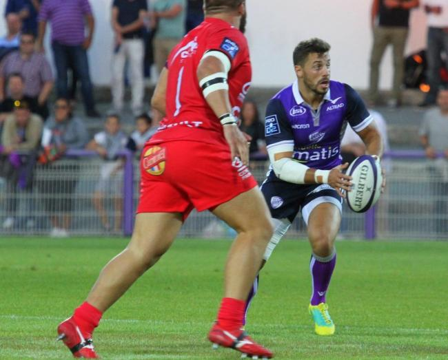 ON THE ATTACK: Dorian Jones pulling the strings in France