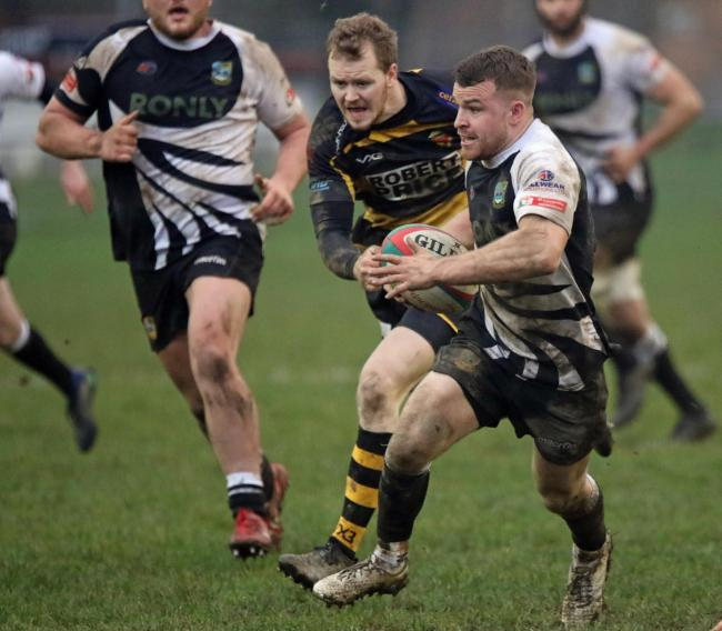 RODNEY RETURN: Luke Crane in action for Bedwas against Newport last season. Picture: Ian Lovell