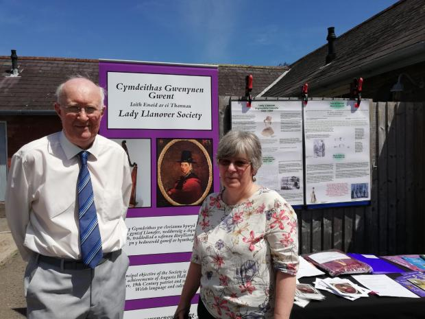 Free Press Series: Robin Davies and Frances Younson of the Lady Llanover Society.