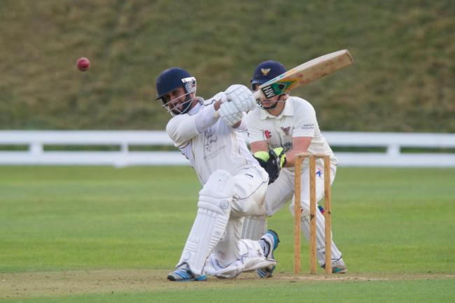 ON A ROLL: Imran Hassan hit 62 for Newport against Bridgend