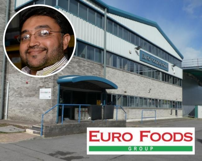 Euro Foods Group's hotel chain plans have been rejected (Inset: Managing director Shelim Hussain)