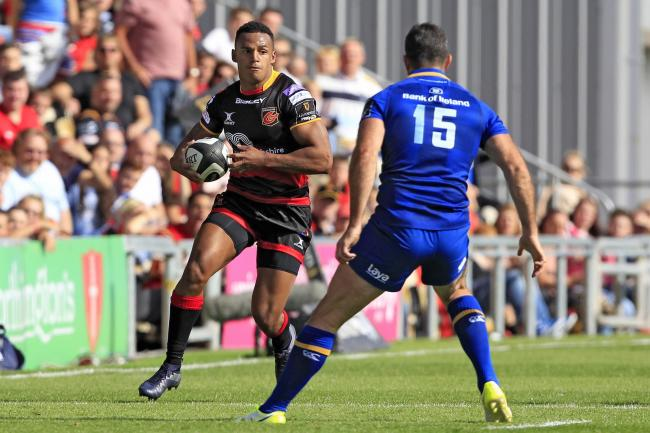 FIGHTING FIT: Dragons wing Ashton Hewitt is back in full training after missing all of last season