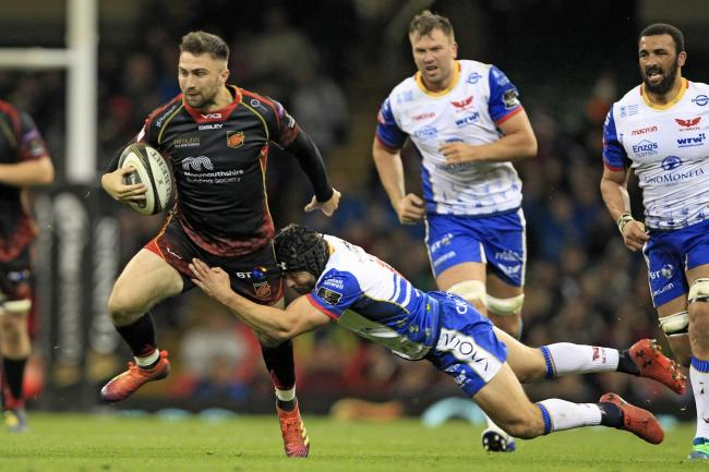 DOUBLE-HEADER: Jordan Williams and the Dragons seniors will be the second fixture against the Scarlets