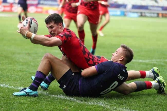SPEEDSTER: Wales sevens international Owen Jenkins (Picture: WORLD RUGBY)
