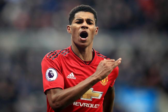 Marcus Rashford is excited by the talent at United