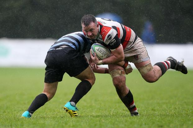 Brendan Lampitt was among the Pontypool scorers at Ding Crusaders. Picture from files