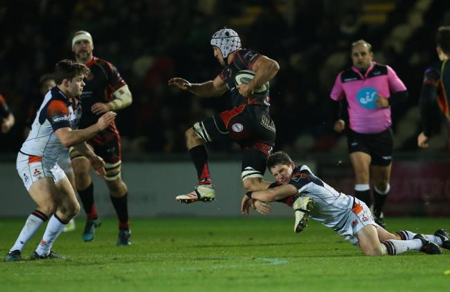 TALISMAN: Dragons back rower Ollie Griffiths
