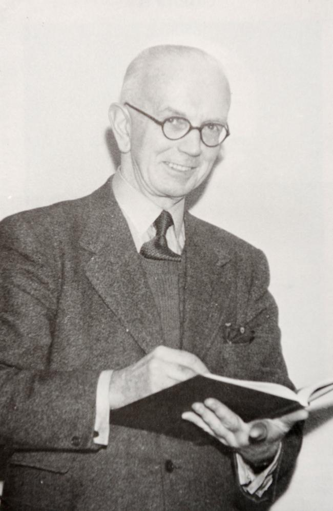 Fred Hando, former South Wales Argus columnist and headmaster