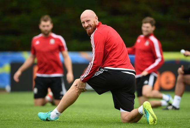 EXPERIENCE: Newport's James Collins won 51 caps for Wales and played in the Euro 2016 semi-final