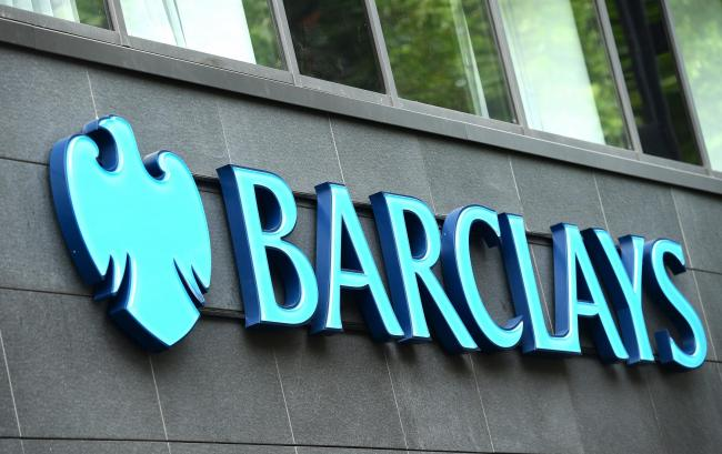 Barclays Bank in London. Photo: Ian West/PA Wire