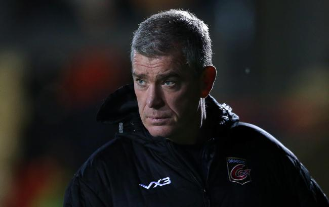 BIG GAME: Dragons boss Dean Ryan knows victory is essential