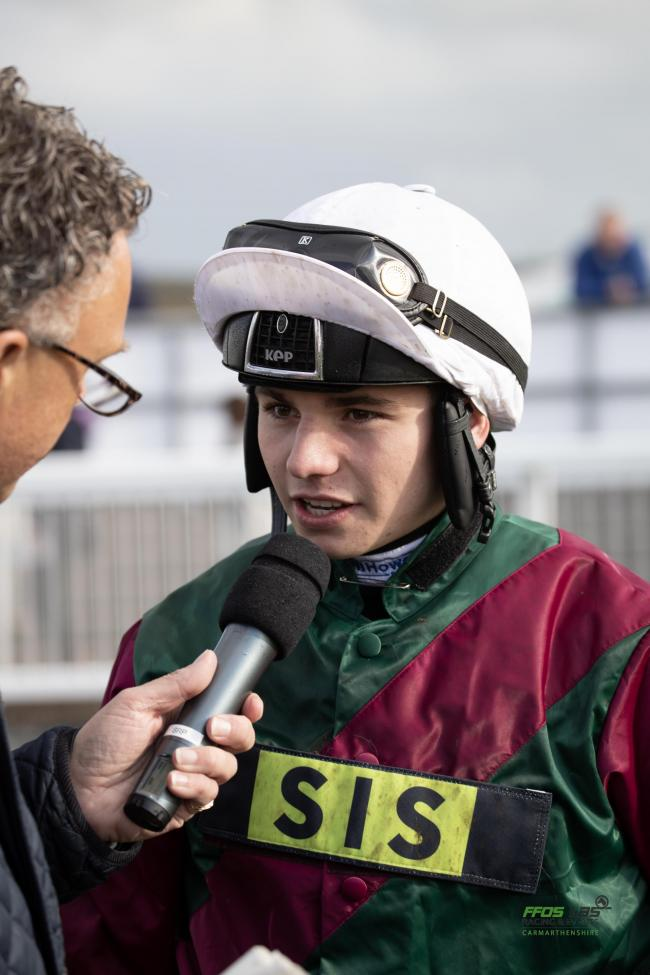 Young Welsh jockey Ben Jones is one to watch