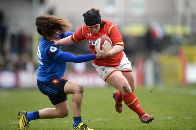 CALL-UP: Wales prop Megan York will feature for the Crawshay's