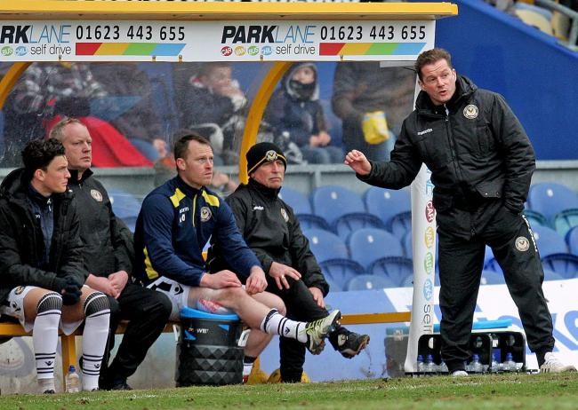 FLASHBACK: It's nearly three years since Michael Flynn, centre, replaced Graham Westley, right, as Newport County manager