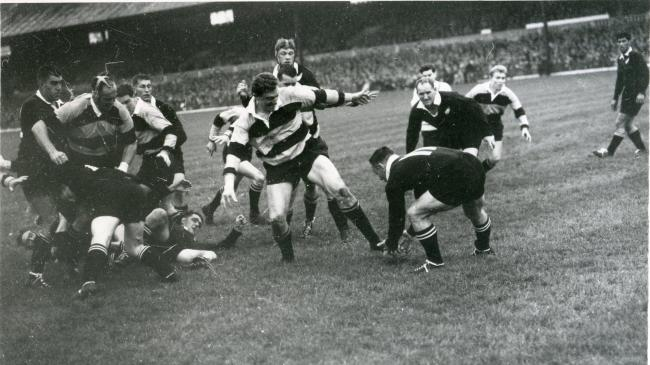 HISTORIC HOME: Newport beat the All Blacks at a packed Rodney Parade in 1963