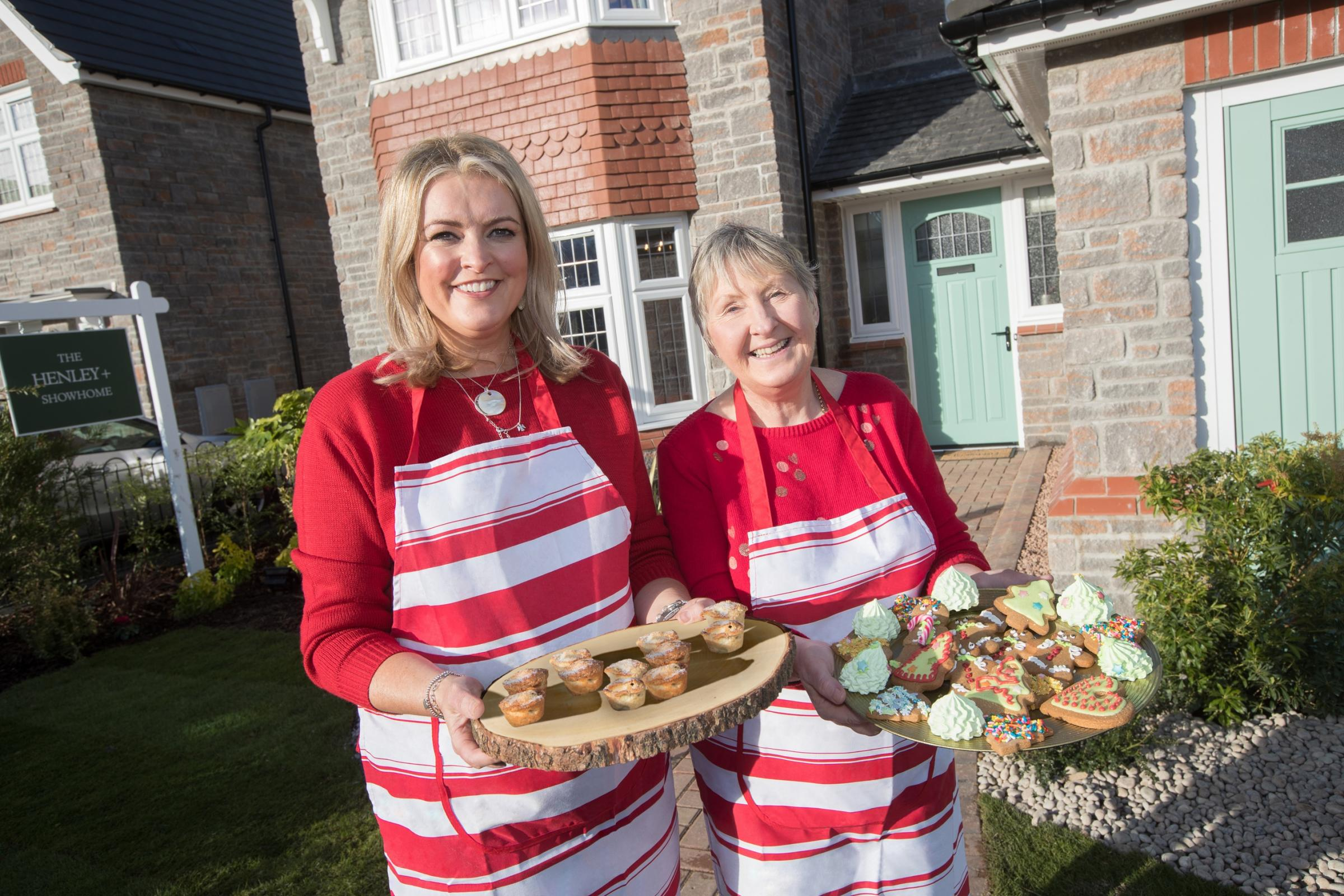 Great British Bakers bring the Christmas spirit to the Parc Plymouth development