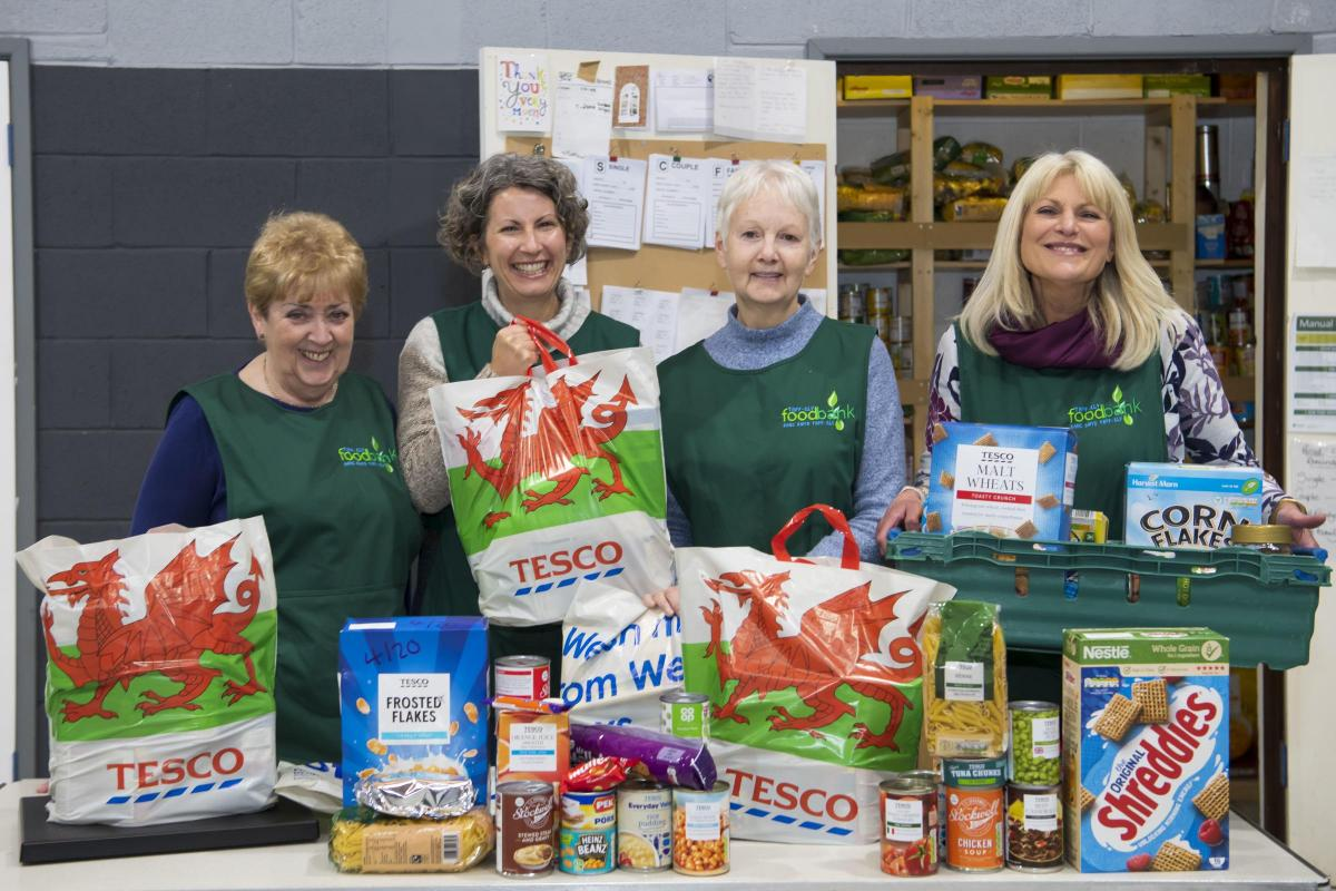 Shoppers In Pontypool Donate More Than 3500 Meals To Food