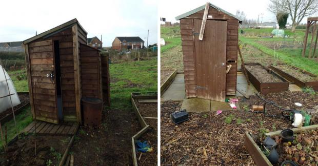 Free Press Series: Two sheds were broken into during the incident