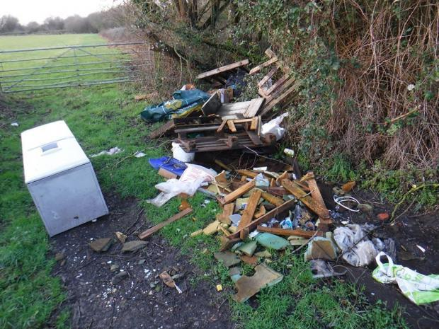 'They have no shame': fly-tipping battle for Monmouthshire fishing group