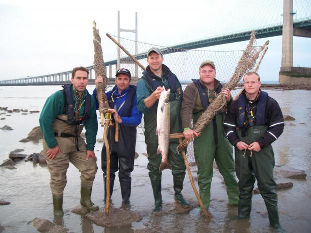 Lave net fishers angry at 'endangering Severn salmon stocks' claim
