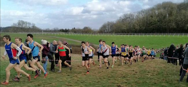 We held a leg of the Gwent Cross Country League series, which was a great success