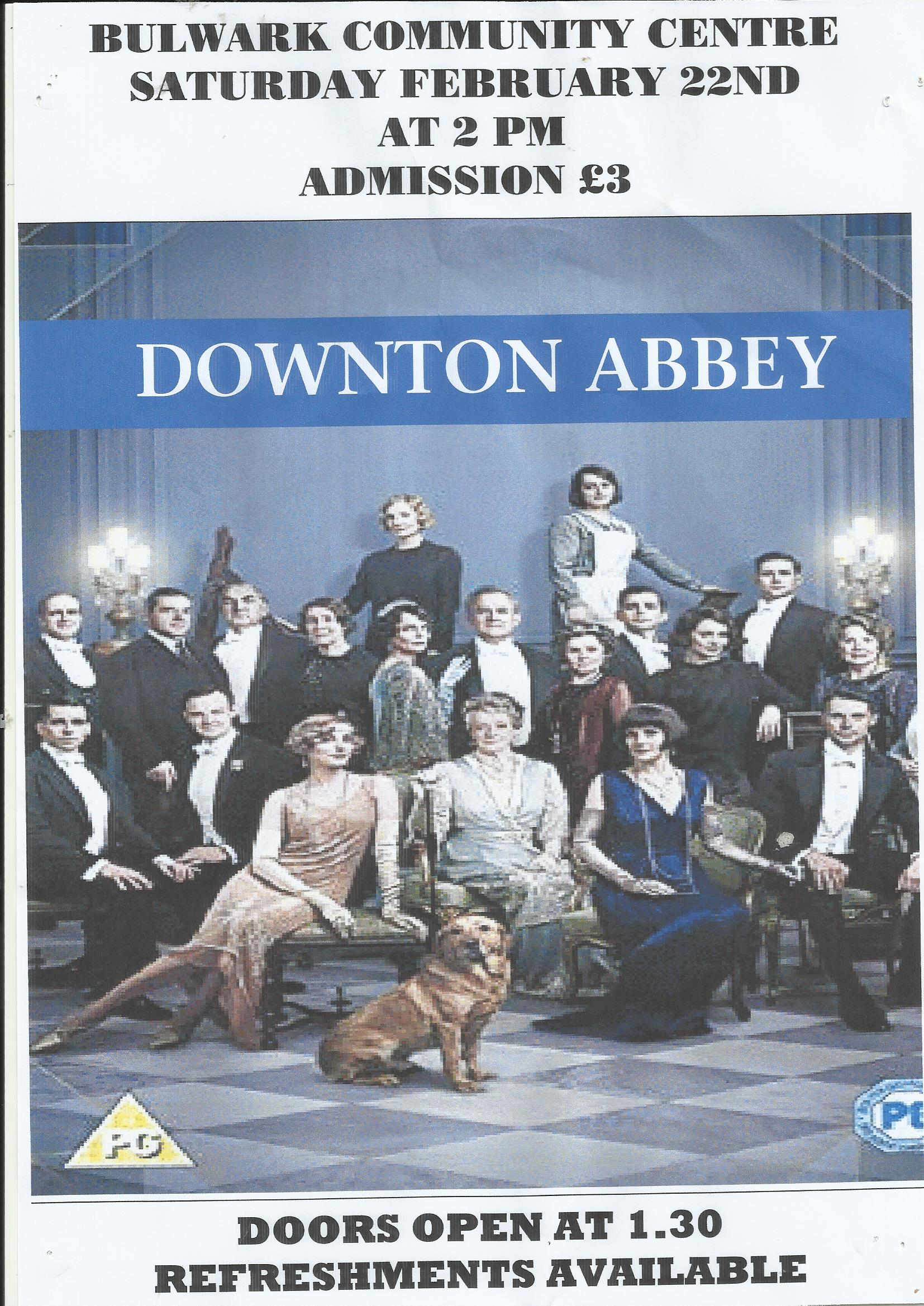 CINEMA:          DOWNTON ABBEY