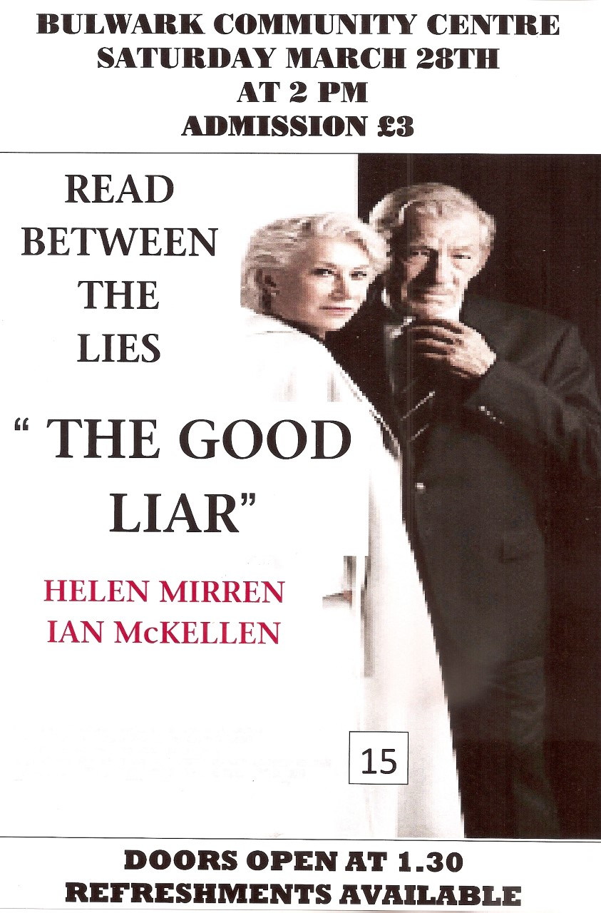 CINEMA:          The Good Liar