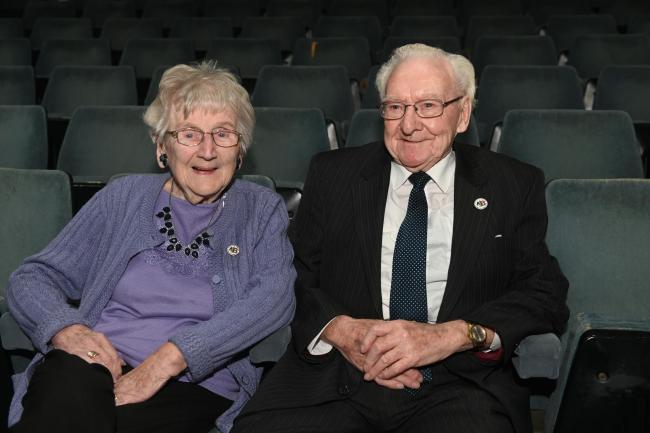 Couple recognised with award after 34 years of voluntary service
