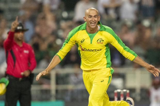 Ashton Agar had South Africa in a spin as he claimed a T20 hat-trick at the Wanderers