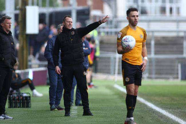 CAP: Newport County AFC manager Michael Flynn and his League Two counterparts will operate within a salary cap