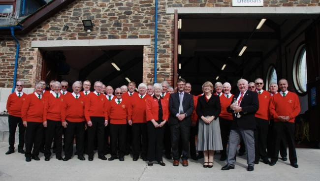 Enjoy singing? Chepstow Male Voice Choir wants you