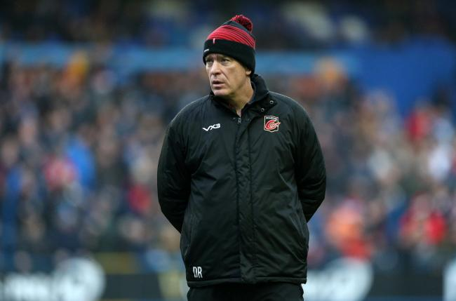 SIDELINED: Dean Ryan's Dragons are out of action in the PRO14 and Europe because of the coronavirus outbreak