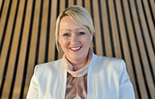 Welsh Government finance minister Rebecca Evans.