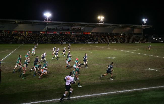 Fans haven't been in Rodney Parade since the Dragons' loss to Benetton in March