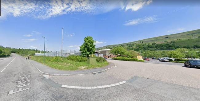 DHL Tradeteam site at Festival Drive, Ebbw Vale