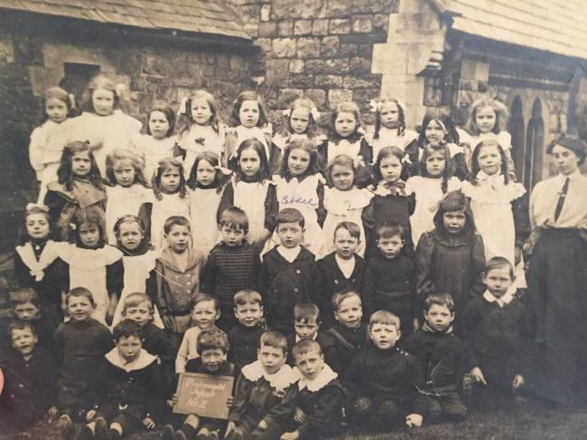 Pontnewydd Infant School in 1910. Picture: Torfaen Museum.
