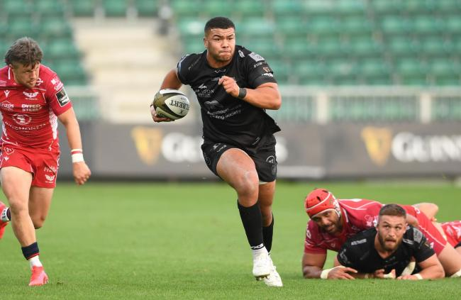 HONOUR: Dragons prop Leon Brown has been selected in the PRO14 Dream Team