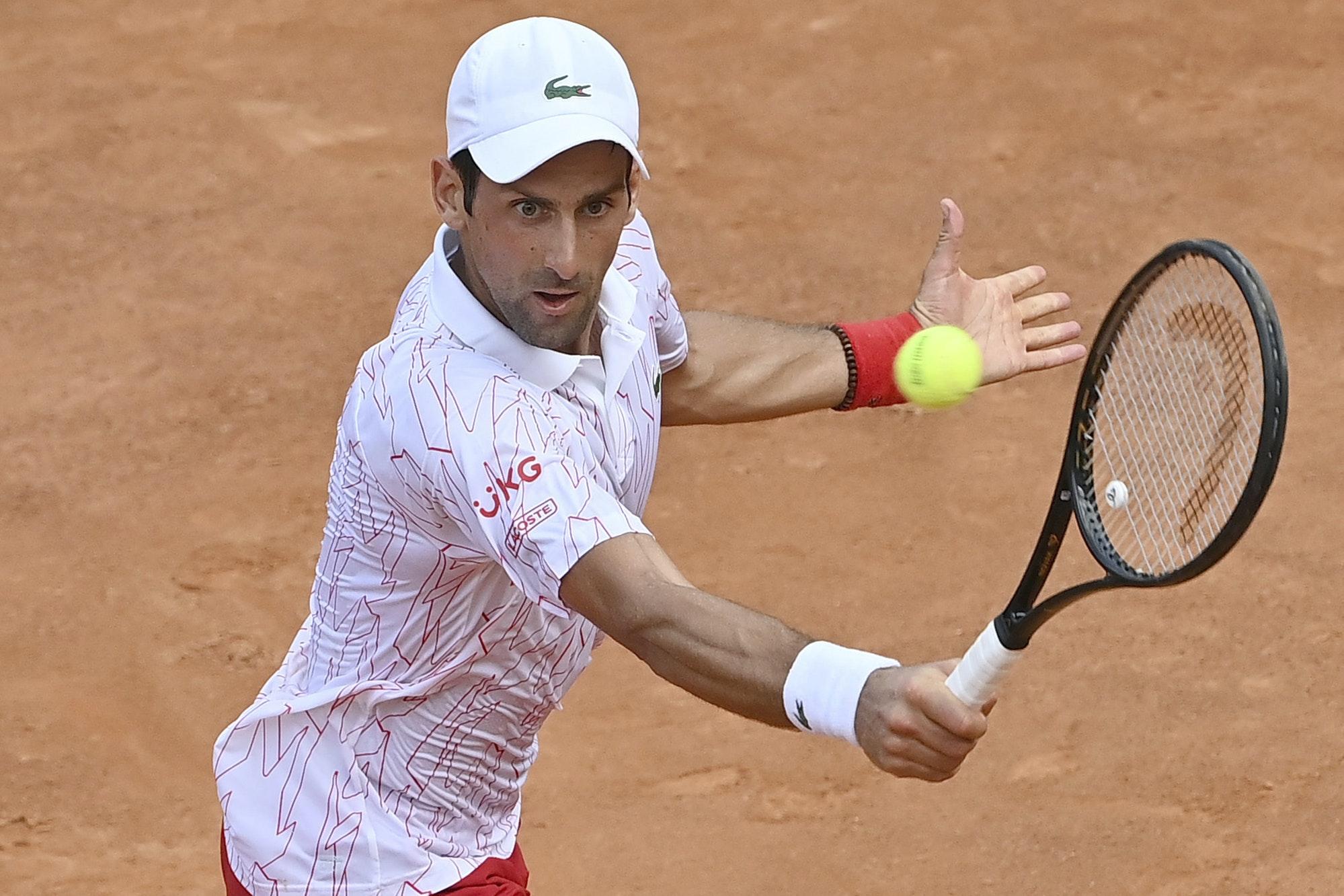 Novak Djokovic Vows Not To Hide His Emotions In Paris Free Press Series