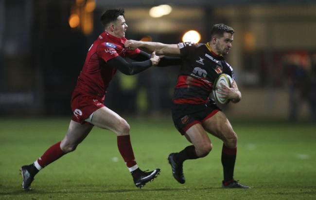 RETURN: Joe Thomas played twice for the Dragons in 2017