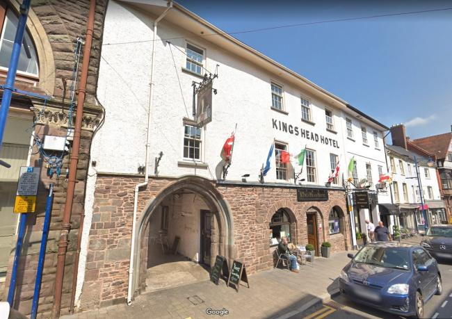 The King's Head in Abergavenny. Picture: Google Maps