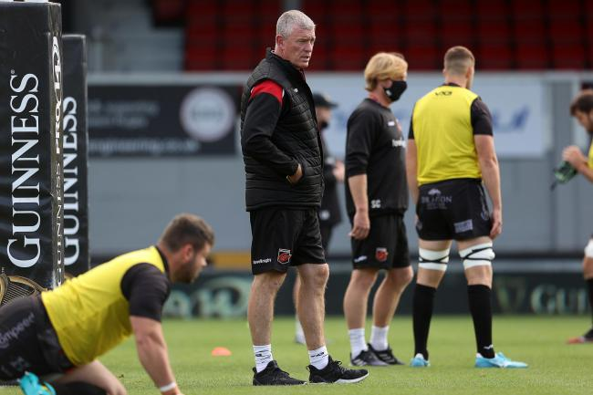 BACK: Boss Dean Ryan and the Dragons have returned to training after quarantine