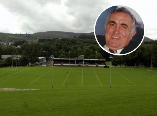 ICONIC: Ray Prosser will be celebrated at Pontypool Park