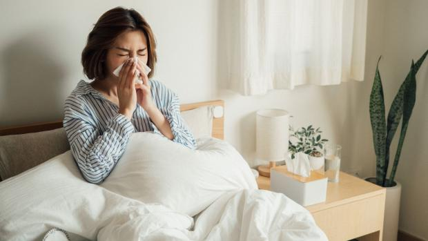 Free Press Series: If you've addressed other potential sources of allergens and still feel sniffly, it may be worth considering your mattress. Credit: Getty Images / staticnak1983