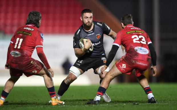 Free Press Series: IMPRESSIVE: Harrison Keddie has been in fine form for the Dragons