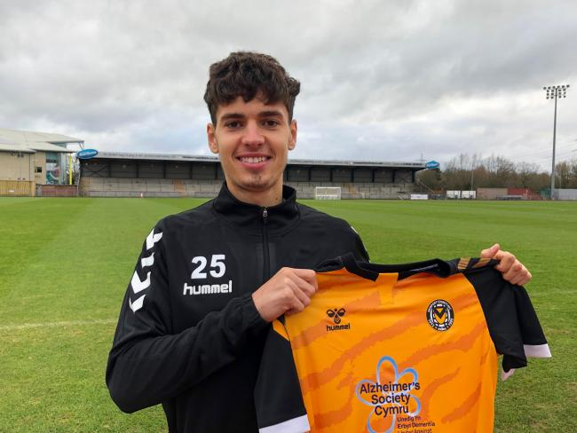 BOOST: Jack Evans has signed for Newport County from Swansea City