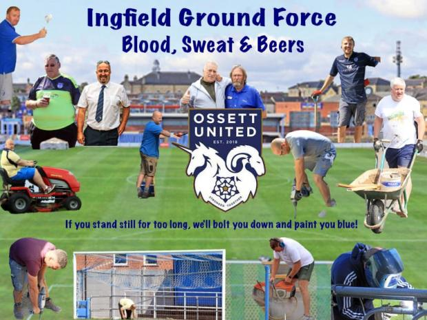 Free Press Series: Ossett are blazing a trail both on and off the pitch with their innovative 'Ground Force programme'